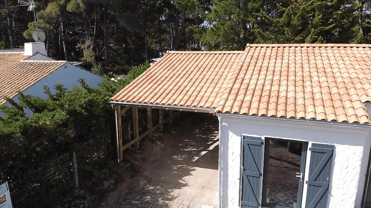 Préau multi-fonction, carport, abri de jardin, cuisine d'extérieur